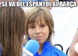 Enlace a Se va del Espanyol al Barça