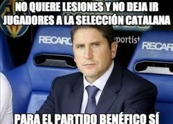 Enlace a No quiere lesiones y no deja ir jugadores a la selección catalana