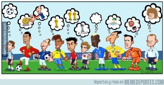 237105 - Los deseos para el próximo año de los fútbolistas