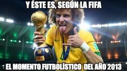 Enlace a Según la FIFA, el momento futbolístico de 2013