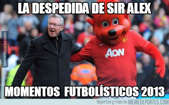 237176 - La despedida de sir Alex Ferguson