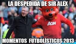 Enlace a La despedida de sir Alex Ferguson