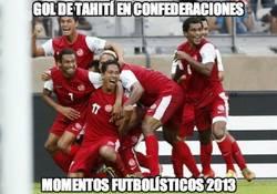 Enlace a Gol de Tahití en la Confederaciones
