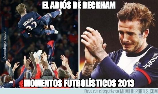 237427 - El adiós de Beckham