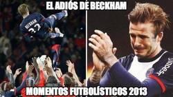 Enlace a El adiós de Beckham
