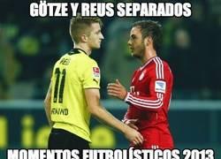 Enlace a Götze y Reus separados