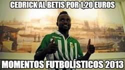 Enlace a Cedrick al Betis por 1,20 euros