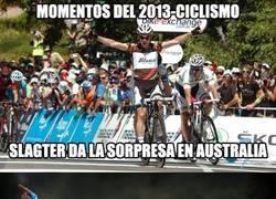 Enlace a ¿Eres aficionado del ciclismo? Momentos del 2013