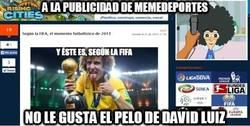 Enlace a Banners dedicados a David Luiz