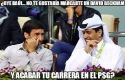 Enlace a ¿Oye Raúl... no te gustaría marcarte un David Beckham?