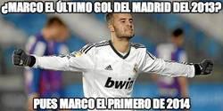 Enlace a ¿Marco el último gol del Madrid del 2013?
