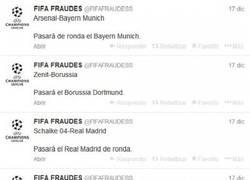 Enlace a @FIFAFRAUDESS ya ha publicado los equipos que pasarán a cuartos. ¿Acertará?