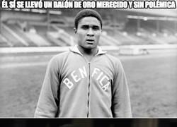 Enlace a Muere el legendario futbolista portugués Eusebio