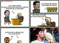 Enlace a Messi, el mejor de la historia
