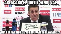 Enlace a Así acabó el ojo de Sandoval