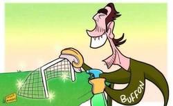 Enlace a Buffon y su portería imbatible. 1 gol recibido en los últimos 10 partidos