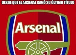 Enlace a Desde que el Arsenal ganó su último título