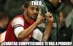 Enlace a Theo, ¿cuántas competiciones te vas a perder?