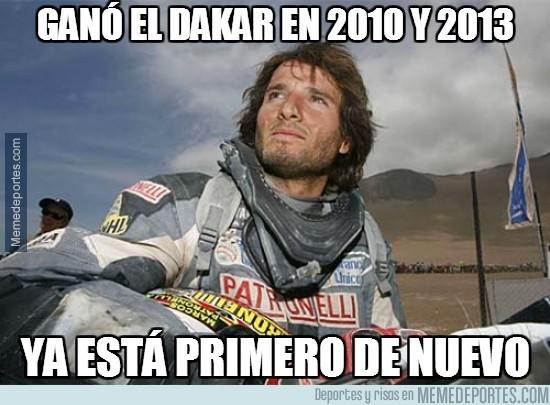 241095 - Ganó el Dakar en 2010 y 2013