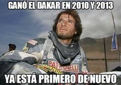 Enlace a Ganó el Dakar en 2010 y 2013
