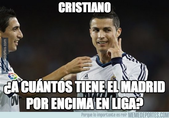 241123 - Cristiano, ¿a cuántos tiene el Madrid por encima en liga?