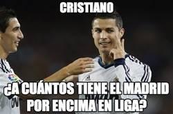 Enlace a Cristiano, ¿a cuántos tiene el Madrid por encima en liga?
