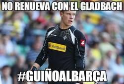 Enlace a No renueva con el Gladbach
