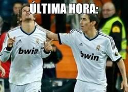 Enlace a Di Maria sigue provocando en el Madrid