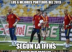 Enlace a Los 6 mejores porteros del 2013 según la IFFHS