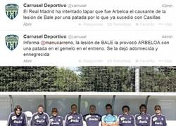 Enlace a Arbeloa fue el causante de la lesión de Bale