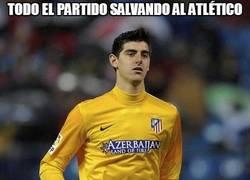 Enlace a Todo el partido salvando al Atlético