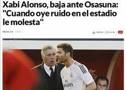 Enlace a Xabi Alonso baja ante el Osasuna
