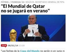 Enlace a ¿Mundial de Qatar 2022 en Verano?