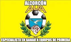 Enlace a El Alcorcón da la primera sorpresa en la Copa