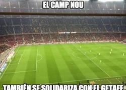 Enlace a Mala entrada en el Camp Nou, parece el Coliseum