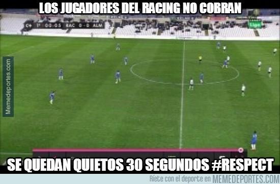 242307 - Los jugadores del Racing de Santander no cobran