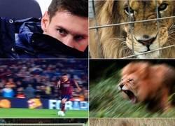 Enlace a Ésta es la mirada asesina de Messi de la que tanto hablaba el Tata