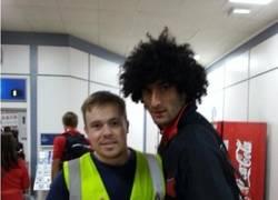 Enlace a Aficionado del Liverpool trolleando a Fellaini