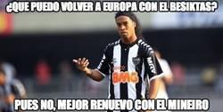 Enlace a Nuestro sueño de ver a Ronaldinho en Europa desaparece