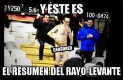 Enlace a El resumen del Rayo-Levante en este espectador del partido