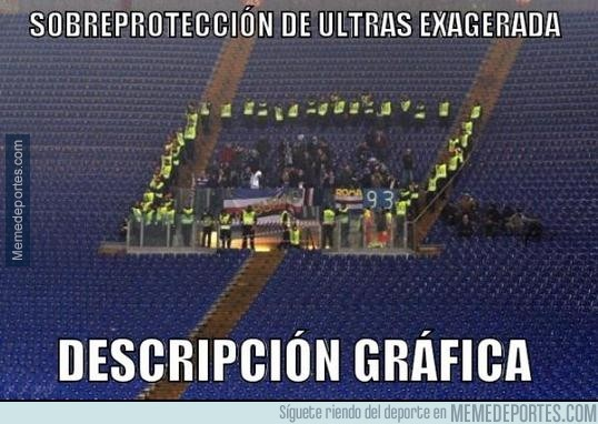 243175 - Sobreprotección de los Ultras exagerada
