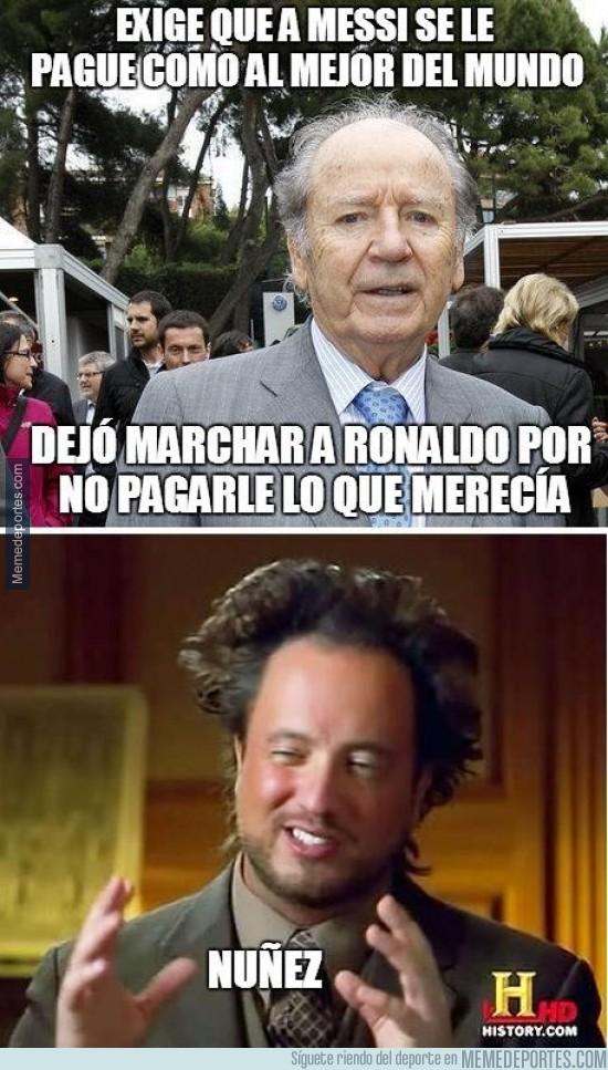243176 - Lo que hay que pagarle a Leo Messi, según la lógica de Nuñez
