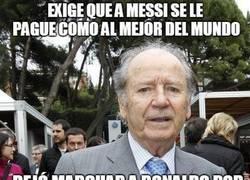 Enlace a Lo que hay que pagarle a Leo Messi, según la lógica de Nuñez