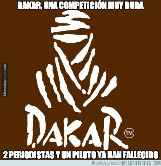 243482 - Dakar, una competición muy dura
