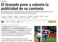 Enlace a Y si el Granada nos llevara cómo publicidad? #PUJEMOSPORMMD