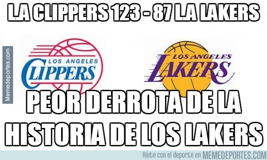 243790 - L.A Clippers 123 - 87 L.A Lakers