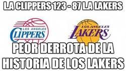 Enlace a L.A Clippers 123 - 87 L.A Lakers