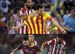 Enlace a La historia de cómo Arda le pidió la camiseta a Messi
