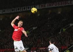 Enlace a Chops de Vidic en su partido 200 con el United