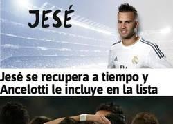 Enlace a Jese convocado contra el Espanyol